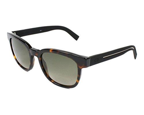 Dior Herren Blacktie183S Sonnenbrille, Schwarz (Dark Havana Matte Black), 52