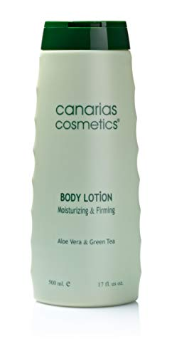 Canarias Cosmetics Dermo Aloe Body Lotion, 1er Pack (1 x 500 ml)