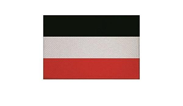 U24 Aufn/äher Deutsches Reich Kaiserreich Fahne Flagge Aufb/ügler Patch 9 x 6 cm