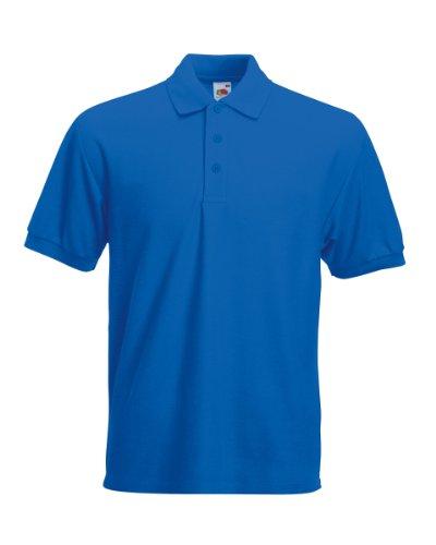 FOTL schweres Piqué-Poloshirt 65/35 (DE) Blau - Königsblau