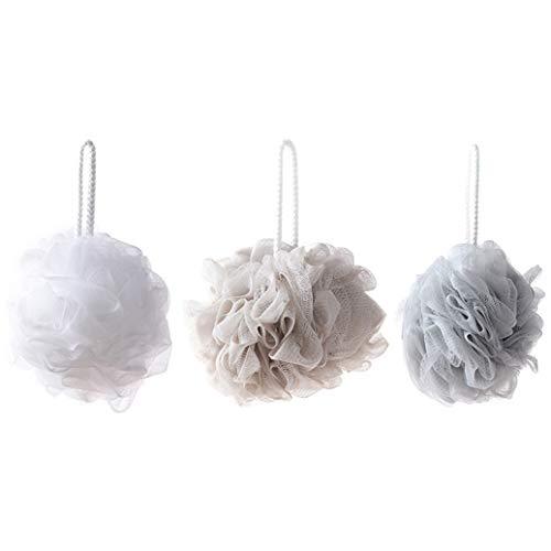 Hocee Populäre Duschschwamm, Luffa-Schwamm, Körperschrubber Badeball