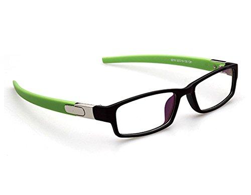 Sunbo Mädchen Brillengestell Gr. One size, Schwarz Grün