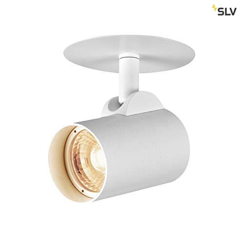 SLV HELIA EL, LED Indoor Deckeneinbauleuchte, weiß, 3000K, 35° Leuchte Aluminium 0 W