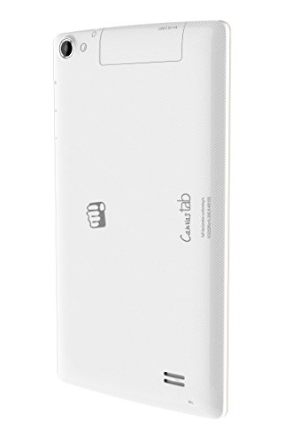 Micromax Canvas P480 Tablet (8GB, WiFi, 3G, Voice Calling), White
