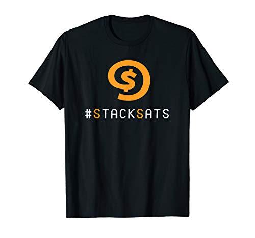 #StackSats - Akkumulieren von Satoshis und Bitcoin T-Shirt
