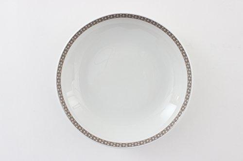 DEGRENNE - Romy lot de 6 assiettes creuse calotte ronde 19 cm, porcelaine - ronde