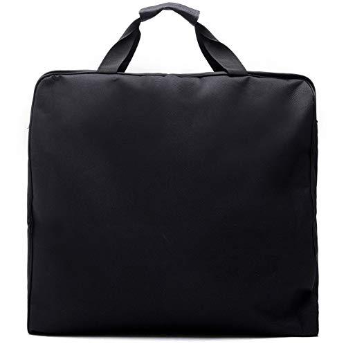 Wasserdicht schwarz Reißverschluss Kleidersack Anzug Tasche langlebige Männer Geschäftsreise Reisetasche für Anzug Kleidung Fall großen Veranstalter (Color : Black)