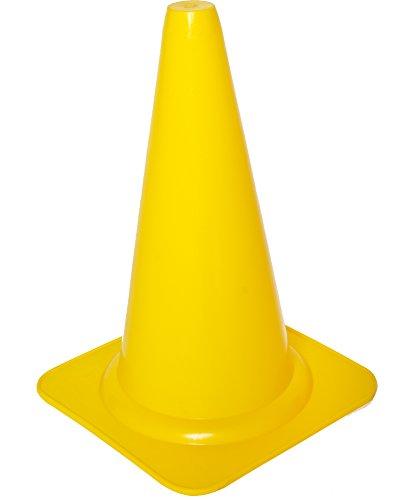 Cawila Markierungskegel, Gelb, Höhe: 23 cm, 00500027