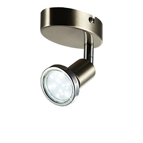 LED Wandspot schwenkbar 230V GU10 IP20 LED Wandleuchte Deckenlampe LED Leuchte LED Deckenspot Wohnzimmerleuchte Spot LED Spotleuchte LED Leuchte Kinderzimmer Wand Lampe 230v EEK A+ 250lm Drehbar