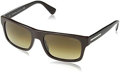 Prada 18PS - Gafas de sol para hombre, color brown