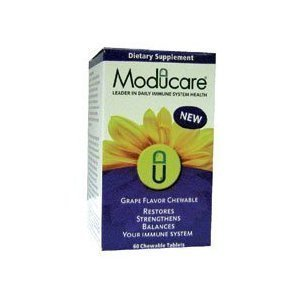 Moducare Grape Chewables - , 60 tab ( Multi-Pack) by Kyolic
