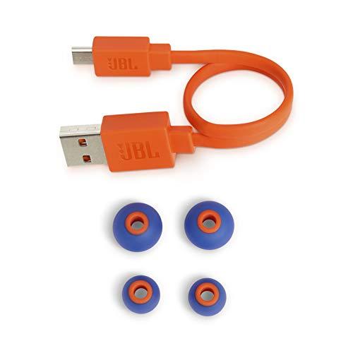 JBL T110BT Cuffie In-Ear Wireless, Auricolari Bluetooth senza Fili Magnetici con Microfono e Comando a 3 Pulsanti, per Musica, Chiamate e Sport, fino a 8 h di Autonomia, Blu - 8