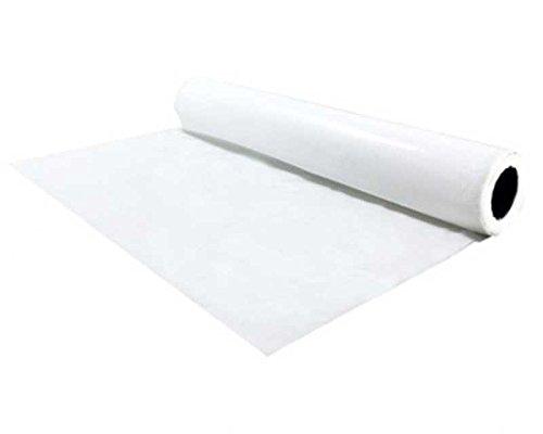 Tischdecke Tischtuch für innen & außen geeignet HPDE 75cm x 100m, weiß/Eignet sich besonders gut...
