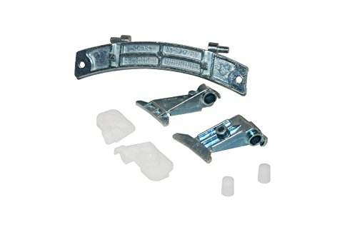 Hoover 49001262 Waschmaschinenzubehör/Türen/Candy Iberna Zerowatt Waschmaschine Tür-Scharnier Kit -