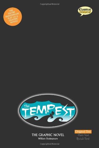 The Tempest: The Graphic Novel: Original Text