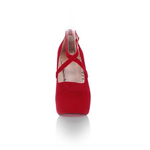 tacco Scarpe Rosso BalaMasa col donna qH1Ef