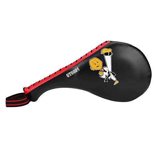 Equipo de la aptitud 1 PC Target Pad Suave Profesional Esponja Enfoque Objetivo Karate Kickboxing Aptitud Práctica Patear Paddle Pads de artes marciales for niños Regalo (Negro) para Entusiastas del F