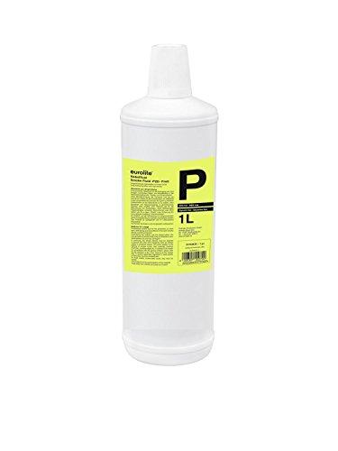 Eurolite Smoke Fluid -P2D- Profi 1 Liter   Nebelfluid für Nebelmaschinen   Hohe Dichte und lange Standzeit   Made in Germany   Geruchsneutral auf Wasserbasis   Biologisch abbaubar