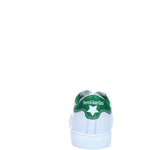 Nero Giardini P800363U Sneakers Uomo Bianco / Verde