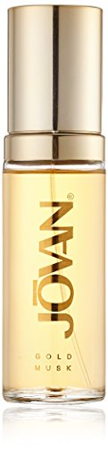 Jovan Gold Musk Eau de Parfum Natural Spray for woman, 1er Pack (1 x 59 ml) -