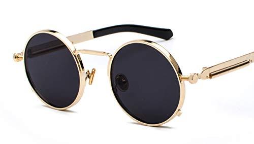 Wikibird Sonnenbrillen Brillenglas Steampunk Zubehör Mode Geschenk Runde Design Aktivitäten Outdoor Eyewear Resistant