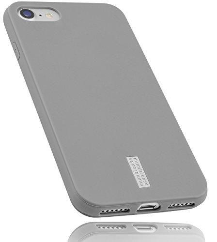 mumbi Schutzhülle für iPhone 8 / iPhone 7 Hülle hell grau