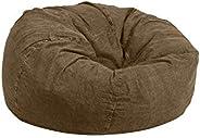 Regal In House Jeans Bean Bag Chair Large Size - Dark Brown - JBB0159008