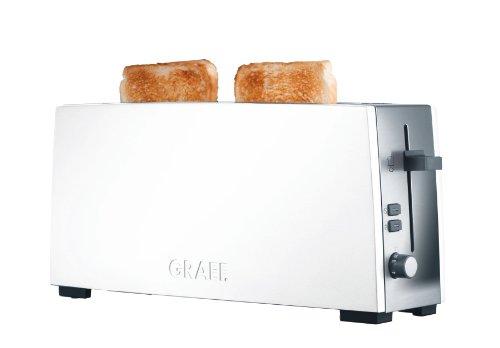 Graef Langschlitz-Toaster TO 91, Edelstahl, weiߟ