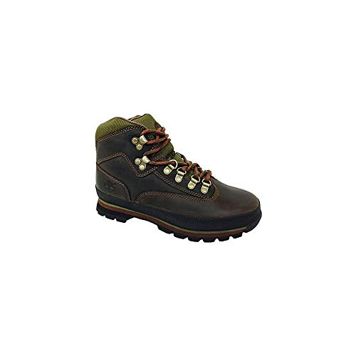 Timberland Womens Euro Hiker Brown Leather Boots (6.5) Timberland Womens Euro Hiker