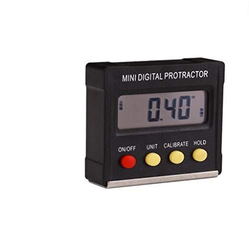 Inclinometro digitale a 360 gradi mini digital level box magnetic base strumenti di misura