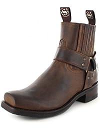 Sendra Boots 8286 - Biker Boots de cuero unisex