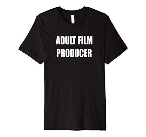 (Erwachsene Filmproduzent Shirt für Halloween-Kostüm)