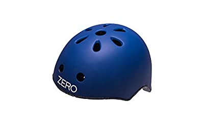 Raleigh Boys' Zero Children's Cycle Helmet, Blue, 50-54cm by Raleigh
