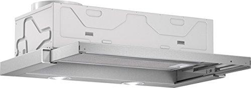 Bosch DFL063W50 Serie 2 Flachschirmhaube / 59,8 cm / Wippenschalter / silbermetallic