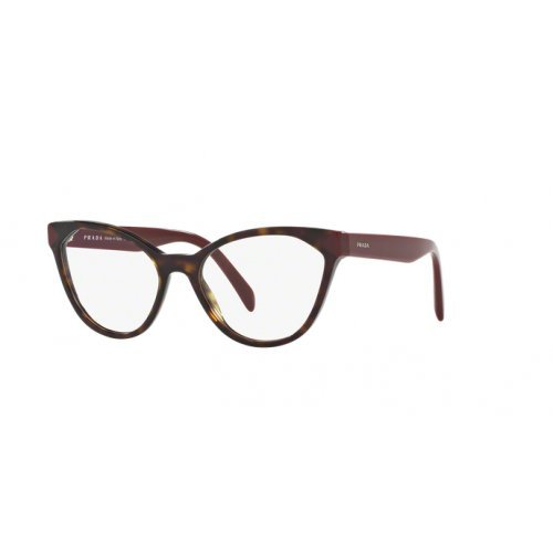 Prada Damen 0PR 02TV Brillengestelle, Schwarz (Havana), 54.0