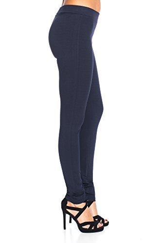 Damen Legging Hose Stretch Slimfit, sehr bequem Dunkelblau