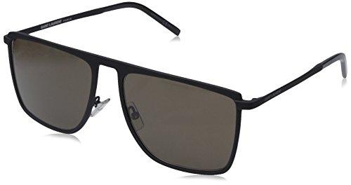 Saint laurent paris 21489380756eu ladies sl 19 grey black sunglasses