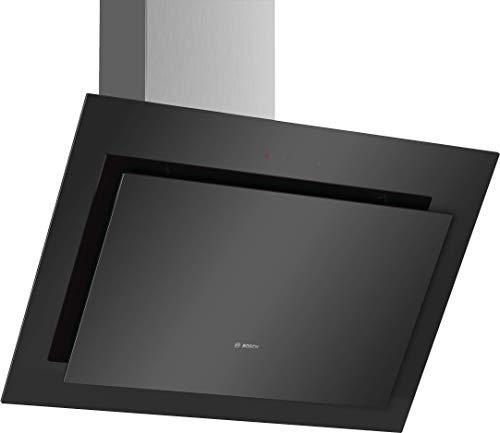Bosch DWK87CM60 Serie 4 Wandesse / B / 80 cm / wahlweise Umluft- oder Abluftbetrieb / DirectSelect-Bedienung / Klarglas schwarz