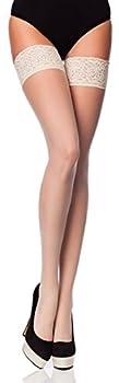 Merry Style Bas Autofixant Fin Sous-vêtements Femme Romantica 15 DEN