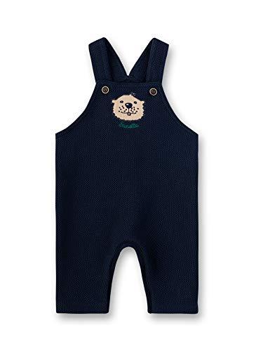 Sanetta Baby-Jungen Dungarees Latzhose, Blau (Shadow Blue 582), 86 (Herstellergröße: 086)