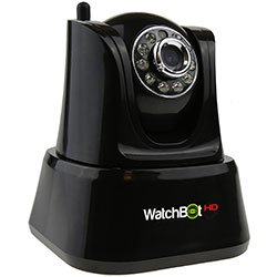 WatchBot WATCHBOTHD WatchBot HD Plug Play &Wireless Überwachungskamera, Schwarz