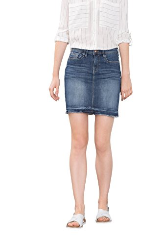 edc by ESPRIT 086CC1D010, Gonna Donna, Blu (BLUE DARK WASH), 38