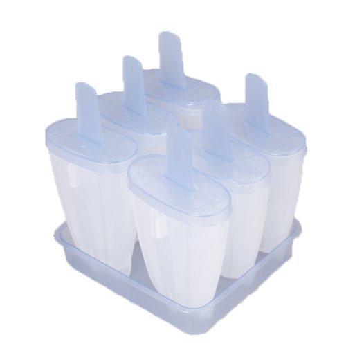 Eis Formen - TOOGOO(R) Verpackung 6 Stieleis Creme Eis Formen