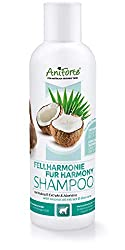 AniForte Fellharmonie Shampoo mit Kokosöl-Extrakt & Aloe Vera 200ml Hundeshampoo Kokos-Shampoo - Pflegeshampoo für Hunde