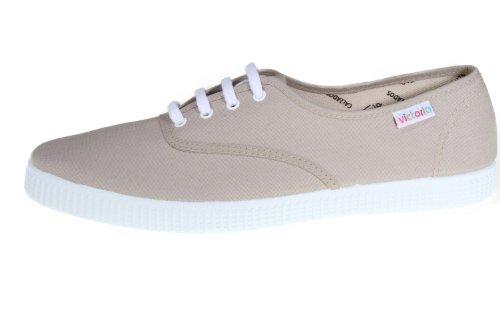 Victoria Inglesa Lona Unisex - Erwachsene Sneaker Beige