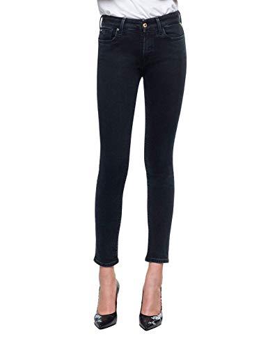 REPLAY Luz High Waist Jeans, Black 98, 31W / 32L D...