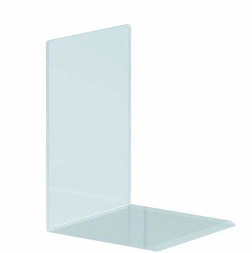 10 Stück NEUE  Buchständer Buchstütze Buchaufsteller aus Acrylglas 3mm