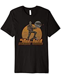 Marvel Star-Lord Guardians of Galaxy 2 Pose Graphic T-Shirt