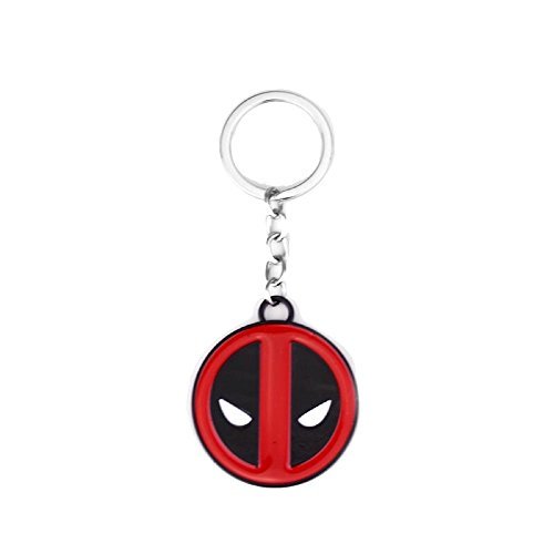 Deadpool Superhero Comics Solid Metal Keyring deadpool costume Keychain Accessory