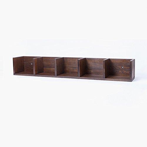 Büroschränke & -ablagen Wandregale aus Massivem Holz Wandmontierter Quadratischer Lagerregal Durable Environment ungiftig Rollcontainer (Size : 107 * 16 * 16 cm)